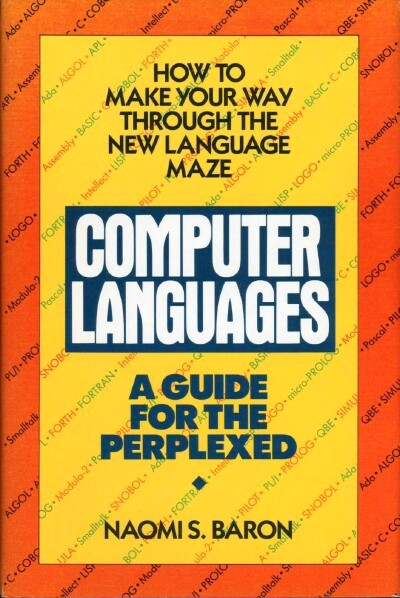 Image for Computer Languages: A Guide for the Perplexed