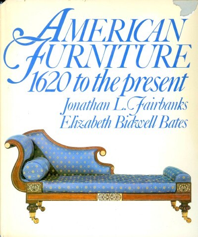 Image for American Furniture: 1620 To the Present
