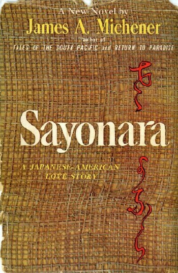 Image for SAYONARA: A JAPANESE-AMERICAN LOVE STORY