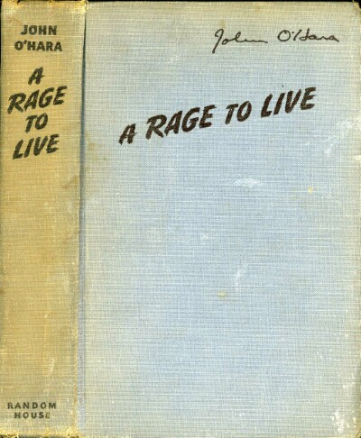 Image for A RAGE TO LIVE