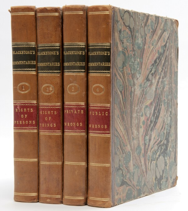 Image for Commentaries on the Laws of England (Four Volumes, Complete)