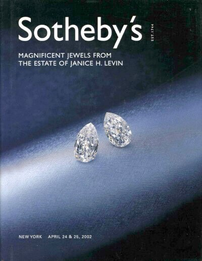 Image for Magnificent Jewels from the Estate of Janice H. Levin (April 24 & 25, 2002)