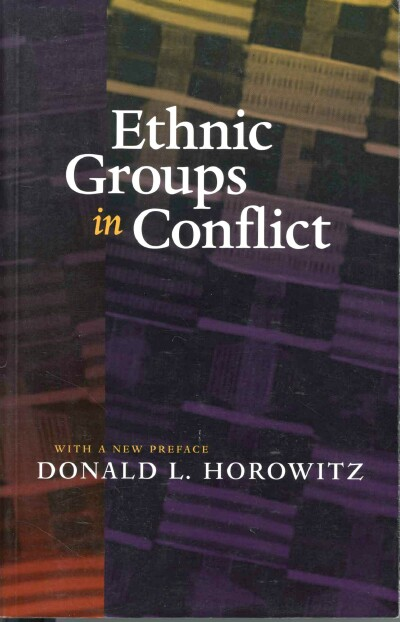 Image for Ethnic Groups in Conflict
