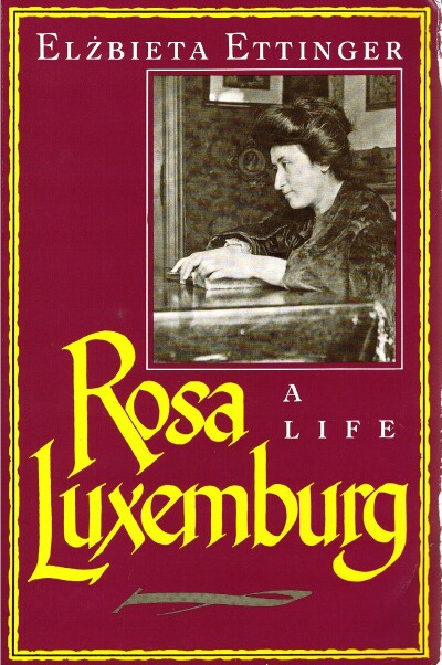 Image for Rosa Luxemburg: A Life