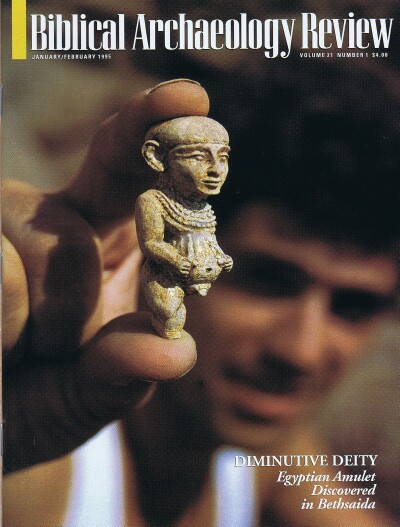 Image for BIBLICAL ARCHAEOLOGY REVIEW / VOL 21, NO 1 /  JAN-FEB, 1995