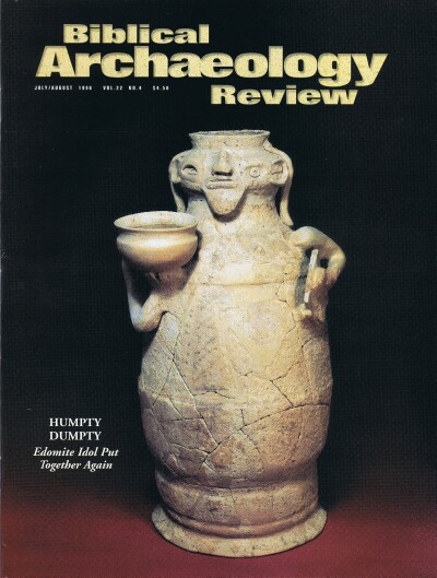 Image for BIBLICAL ARCHAEOLOGY REVIEW / VOL 22, NO 4 /  JUL-AUG, 1996