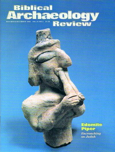 Image for BIBLICAL ARCHAEOLOGY REVIEW / VOL 22, NO 6 /  NOV-DEC, 1996
