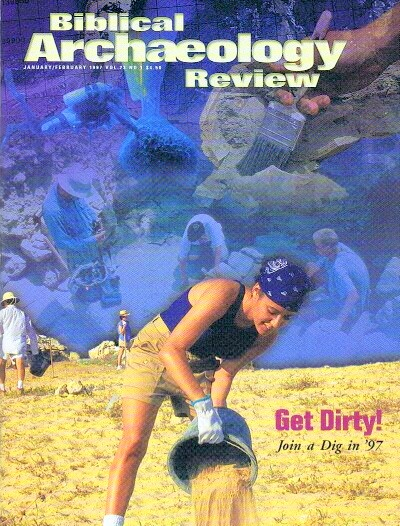 Image for BIBLICAL ARCHAEOLOGY REVIEW / VOL 23, NO 1 /  JAN-FEB, 1997