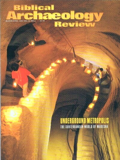 Image for BIBLICAL ARCHAEOLOGY REVIEW / VOL 23, NO 2 /  MAR-APR, 1997