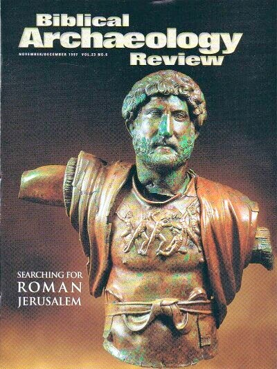 Image for BIBLICAL ARCHAEOLOGY REVIEW / VOL 23, NO 6 /  NOV-DEC, 1997