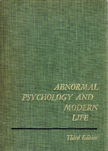 Image for ABNORMAL PSYCHOLOGY AND MODERN LIFE