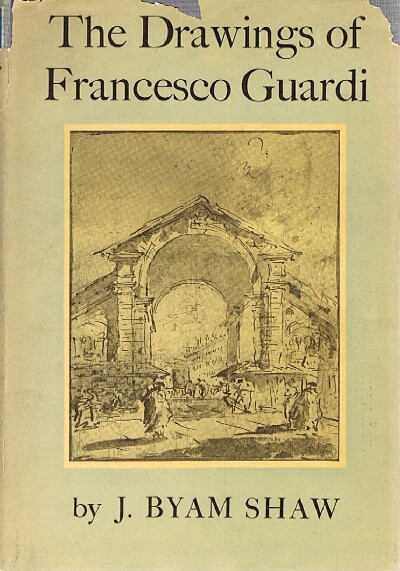 Image for THE DRAWINGS OF FRANCESCO GUARDI