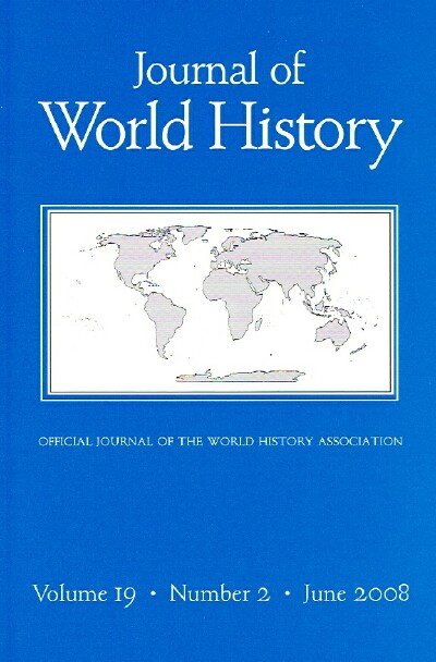 Image for JOURNAL OF WORLD HISTORY (VOL 19,  NO. 2, JUNE 2008)