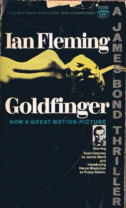 James Bond Goldfinger Book