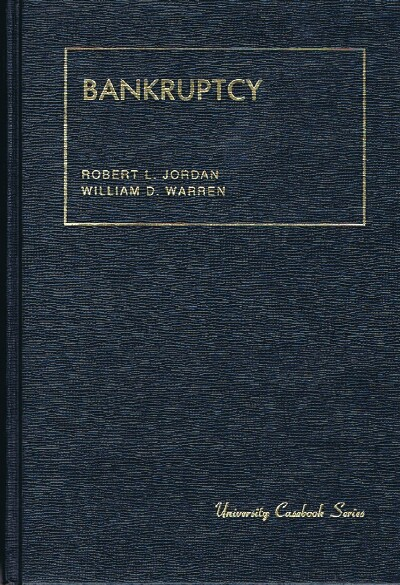 Image for BANKRUPTCY [University Casebook Series]
