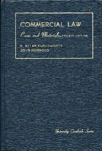 Image for Cases and Materials on Commercial Law