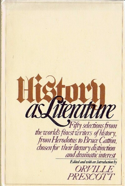 Image for HISTORY AS LITERATURE