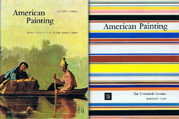 Image for AMERICAN PAINTING FROM ITS BEGINNING TO THE ARMORY SHOW AND THE TWENTIETH CENTURY (Two Volumes - Complete in Slipcase)