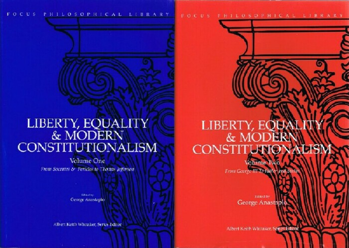 Image for Liberty, Equality & Modern Constitutionalism (Two Volumes, Complete)