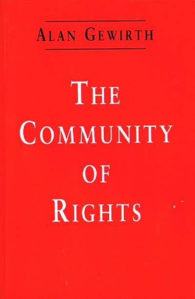 Image for The Community of Rights