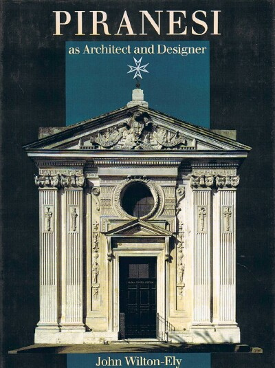 Image for Piranesi as Architect and Designer