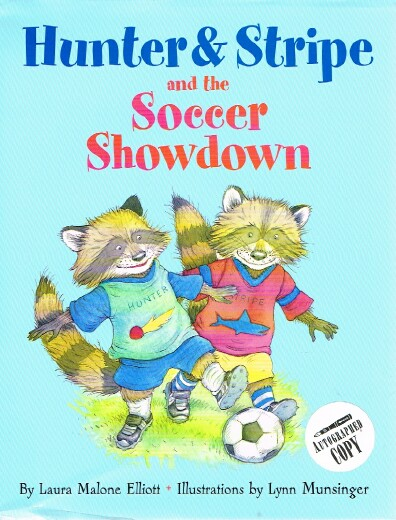 Image for Hunter & Stripe and the Soccer Showdown