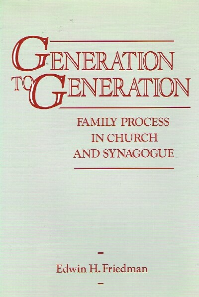 Image for Generation to Generation Family Process in Church and Synagogue