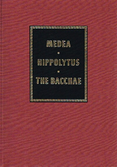 Image for Medea, Hippolytus, and The Bacchae