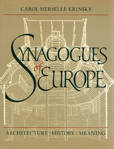 Image for Synagogues of Europe Architecture, History, Meaning