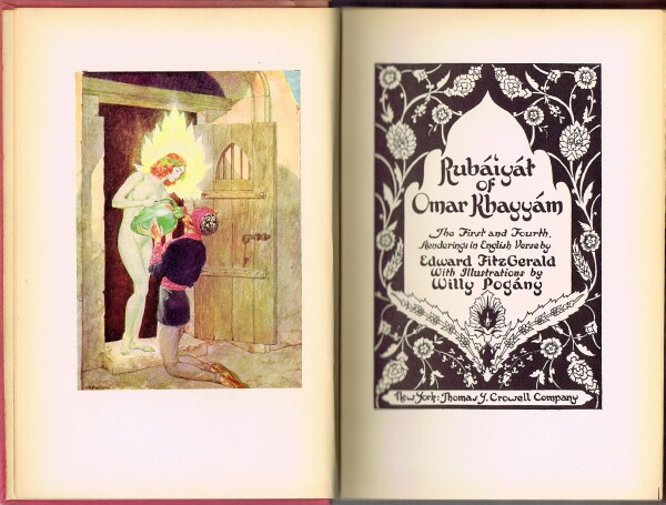 Image for RUBAIYAT OF OMAR KHAYYAM: The First and Fourth Renderings by Edward Fitzgerald