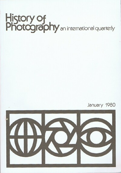 Image for History of Photography (Vol. 4, No. 1, January 1980) An International Quarterly