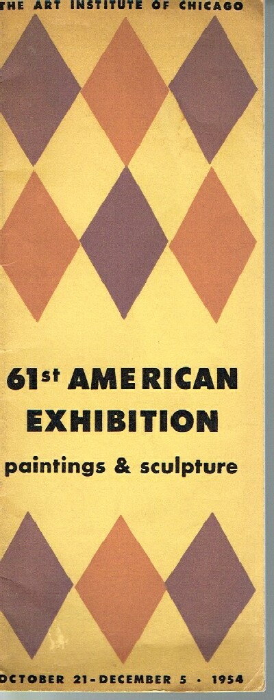 Image for 61st American Exhibition: Paintings and Sculpture- October 21-December 5, 1954