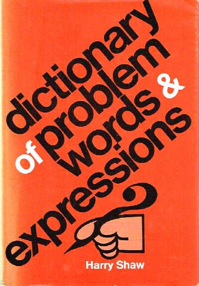 Image for Dictionary of Problem Words & Expressions